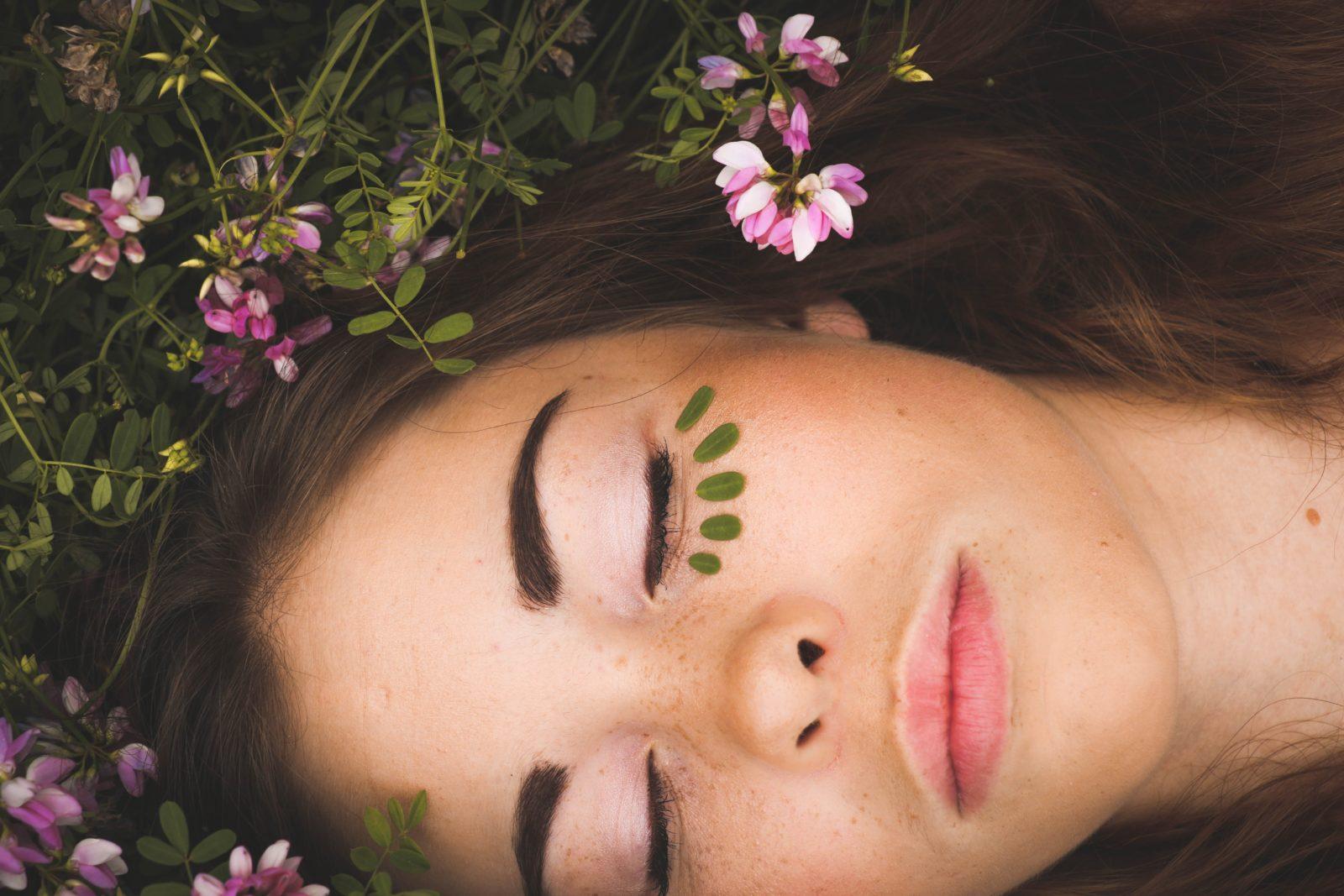 Glycolic facial treatment
